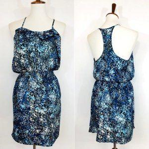 🐱 Gap Blue Tank Floral Tunic Dress